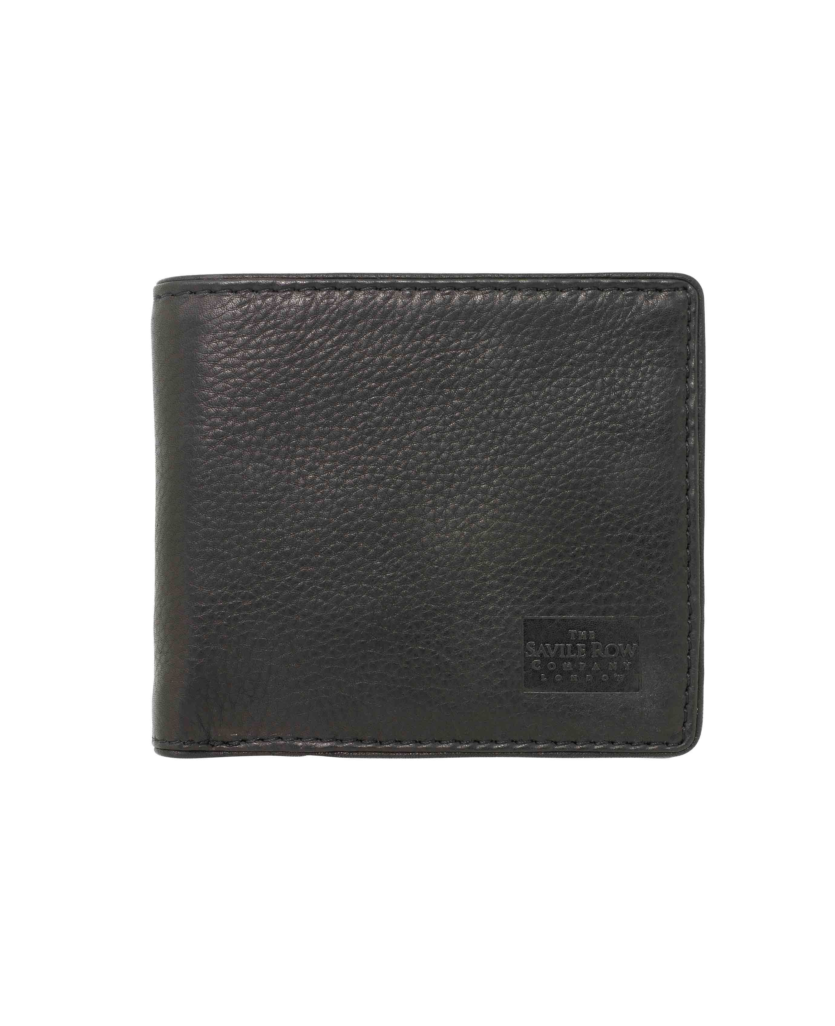 RAF roundel black leather bifold press stud wallet with coin pocket new in box