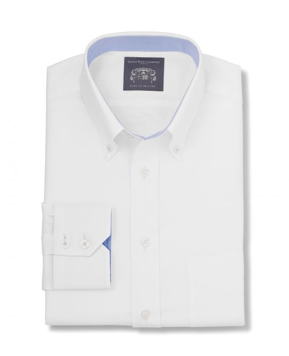 Frederick White Oxford Made-To-Measure Shirt