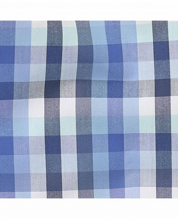 Blue Checked Lounge Pants - MLP988BLU - Small Image 280x344px