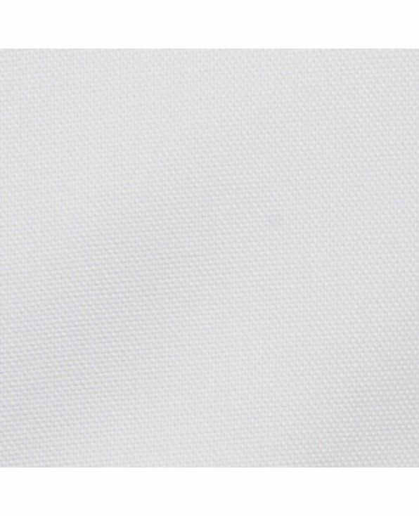 White Pinpoint Slim Fit Button-Down Casual Shirt - 1076WHT Collar Detail - Small Image 280x344px