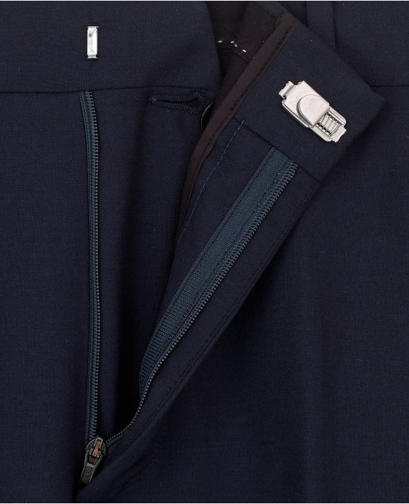 Navy Classic Fit Trouser
